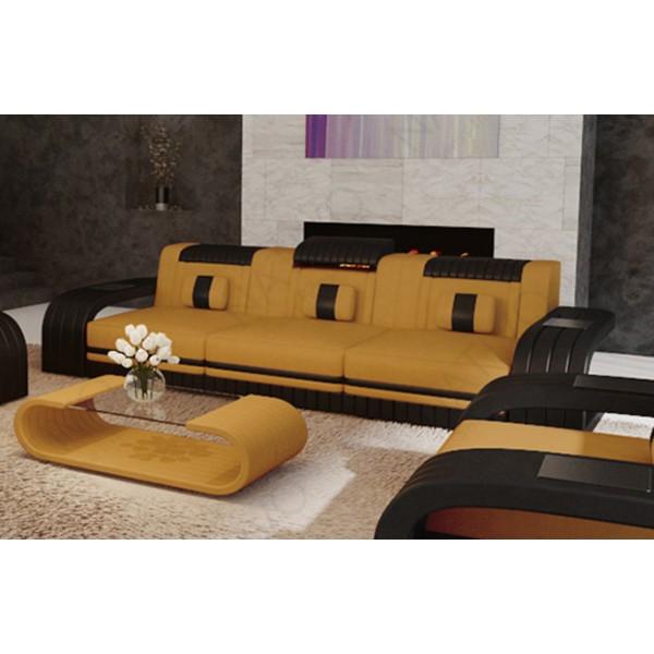 Compleet bed MOON met lattenbodem en SILVER PROTECT matras