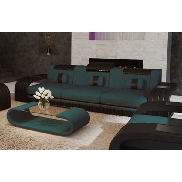 Compleet bed MOON met LED verlichting NATIVO design meubelen Nederland