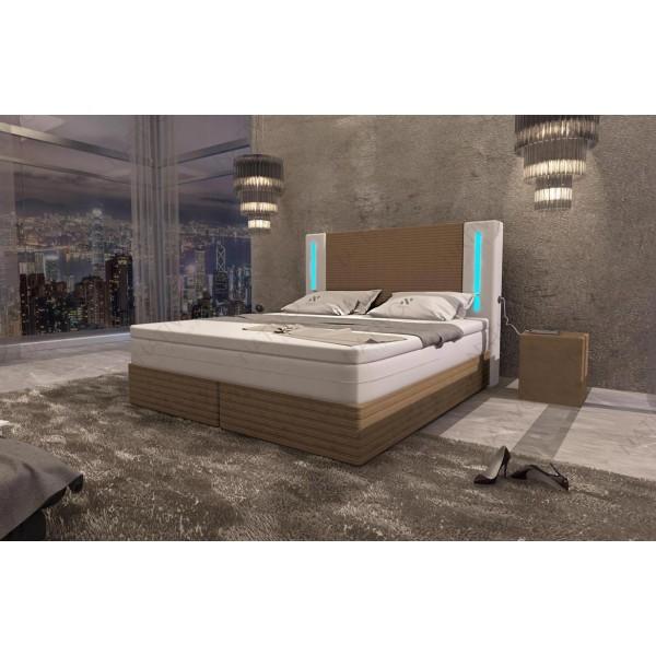 Compleet bed COCO met LED verlichting NATIVO design meubelen Nederland