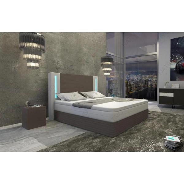 Compleet bed COCO v2 met LED verlichting NATIVO design meubelen Nederland