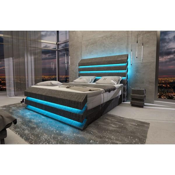 Lederen 2-zitsbank CLERMONTmet LED verlichting NATIVO design meubelen Nederland