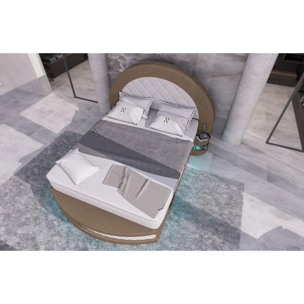 Lederen 2-zitsbank HERMES met LED verlichting NATIVO design meubelen Nederland