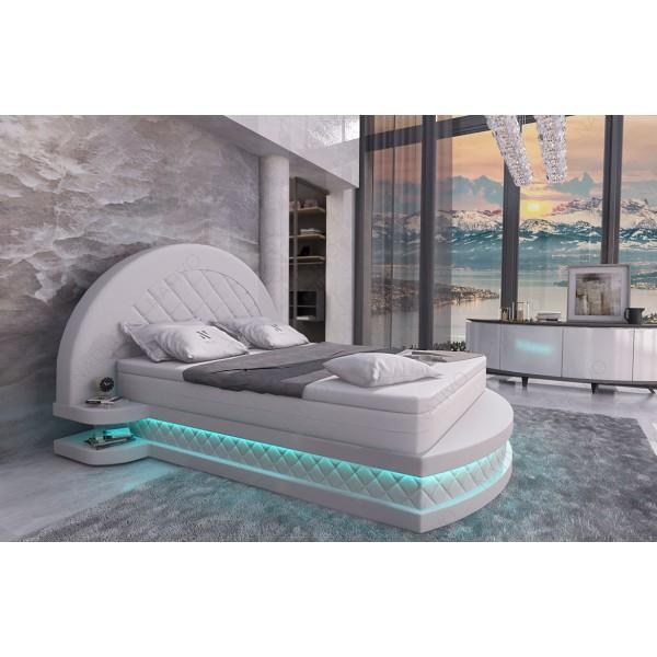 Lederen 2-zitsbank AVENTADOR met LED verlichting NATIVO design meubelen Nederland