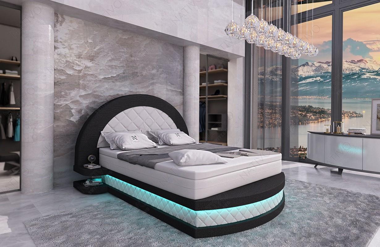 Lederen 2-zitsbank SPACE met LED verlichting NATIVO design meubelen Nederland
