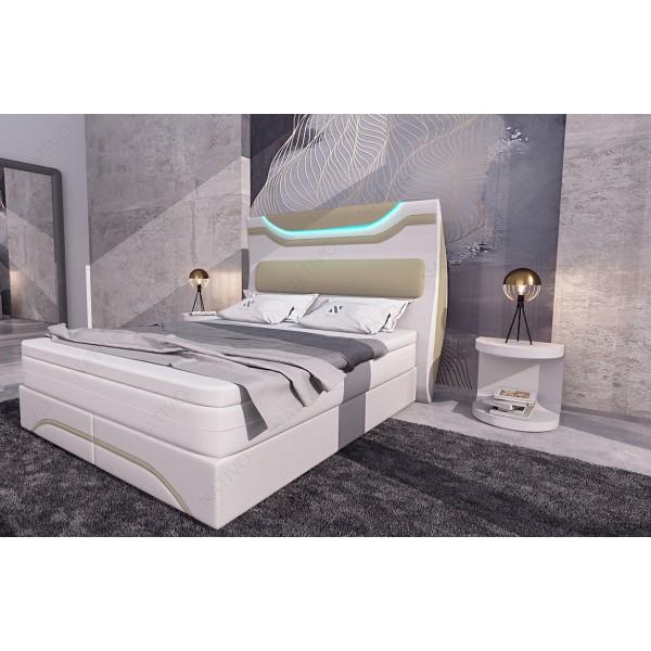 Lederen 2-zitsbank MATIS met LED verlichting NATIVO design meubelen Nederland
