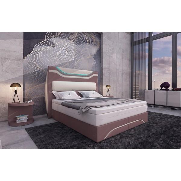 Lederen 2-zitsbank CESARO met LED verlichting NATIVO design meubelen Nederland