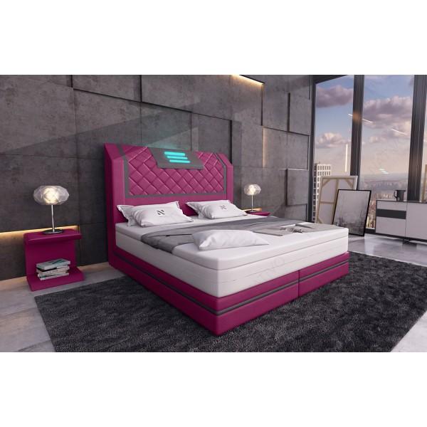 Lederen 2-zitsbank ATLANTIS met LED verlichting NATIVO design meubelen Nederland
