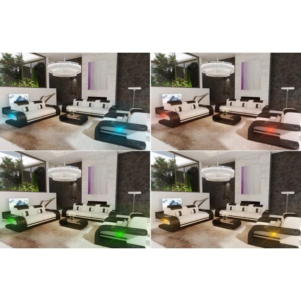 Lederen 2-zitsbank MIRAGE met LED verlichting NATIVO design meubelen Nederland
