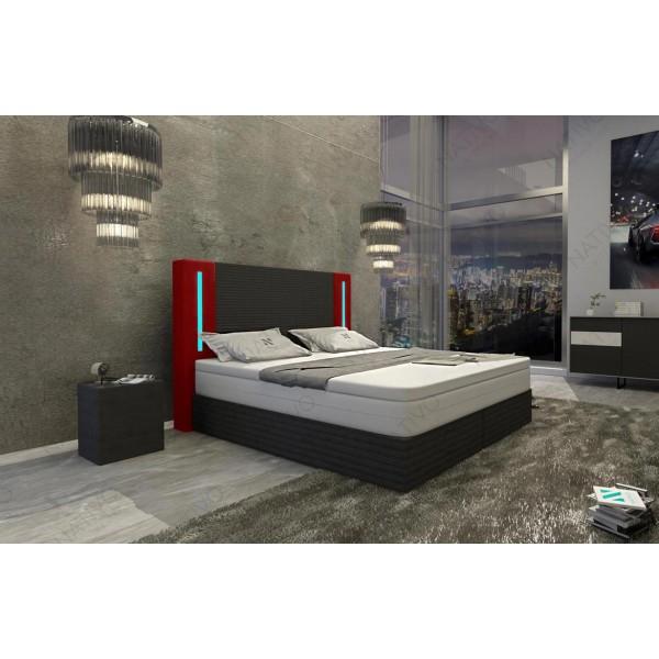 Lederen 3-zitsbank HERMES met LED verlichting NATIVO design meubelen Nederland