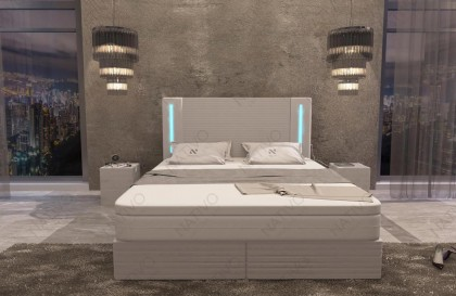 Design 3-zitsbank AVENTADOR met LED verlichting