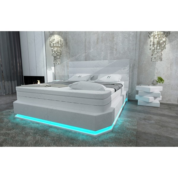 Lederen 3-zitsbank SPACE met LED verlichting NATIVO design meubelen Nederland