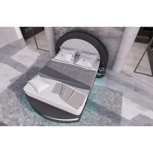 Lederen 3-zitsbank IMPERIAL met LED verlichting  NATIVO design meubelen Nederland