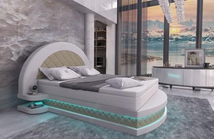Lederen 3-zitsbank CAREZZA met LED verlichting NATIVO design meubelen Nederland