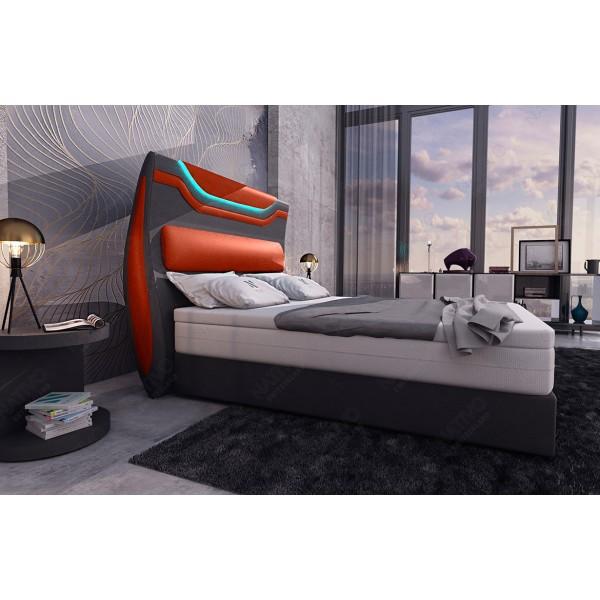 Lederen 3-zitsbank MIRAGE met LED verlichting NATIVO design meubelen Nederland