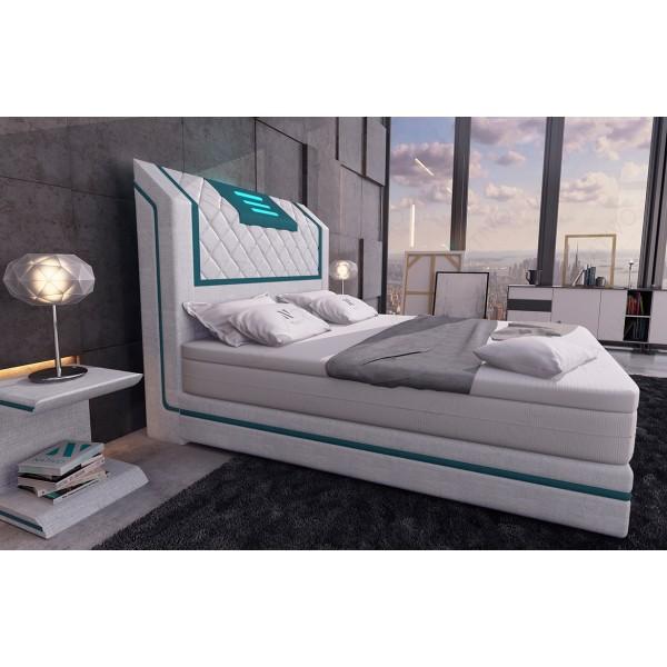 Design bank ROYAL CORNER U-vorm met LED verlichting en USB-poort NATIVO design meubelen Nederland