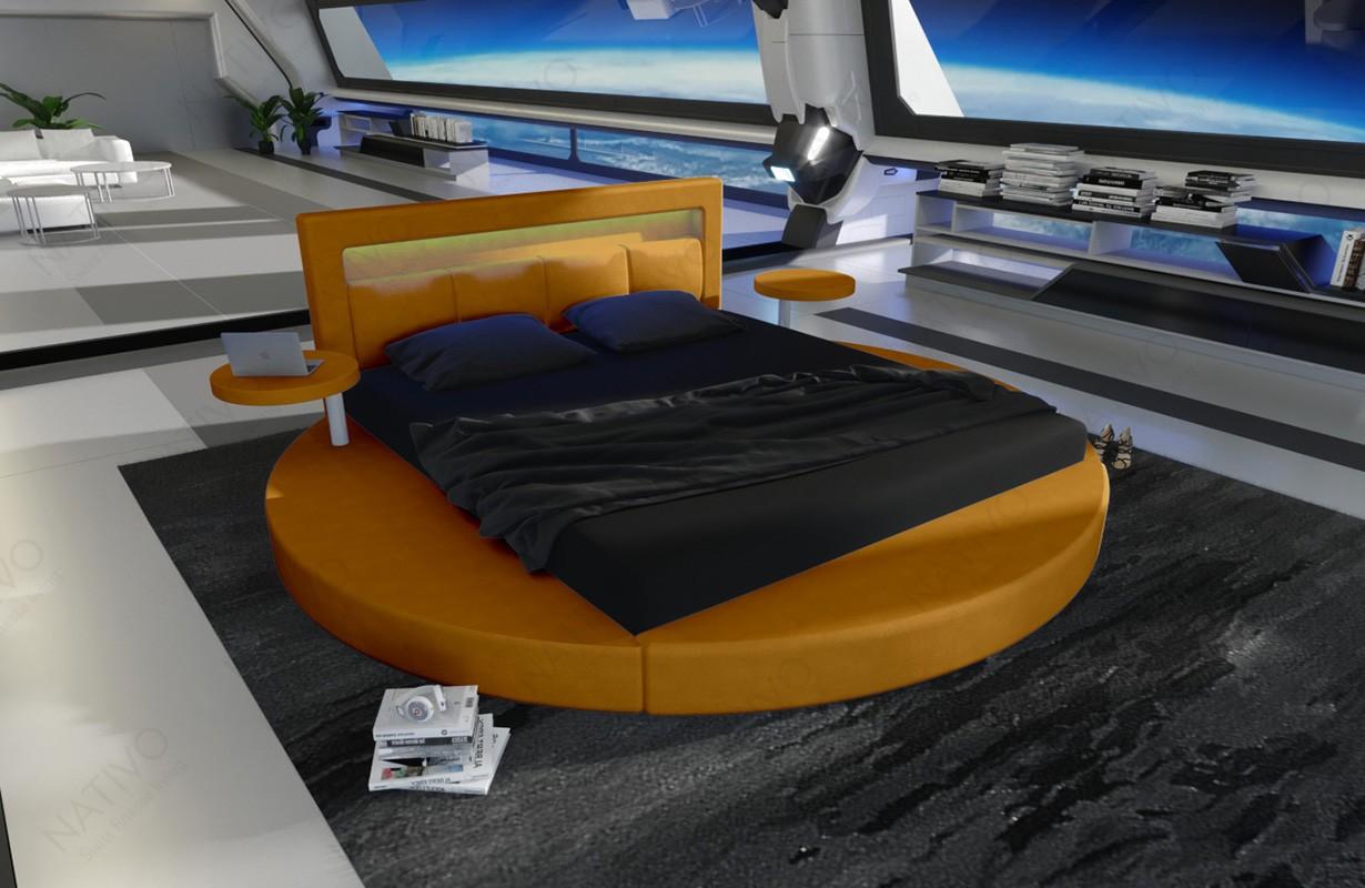 Rond design bed COCO met verlichting
