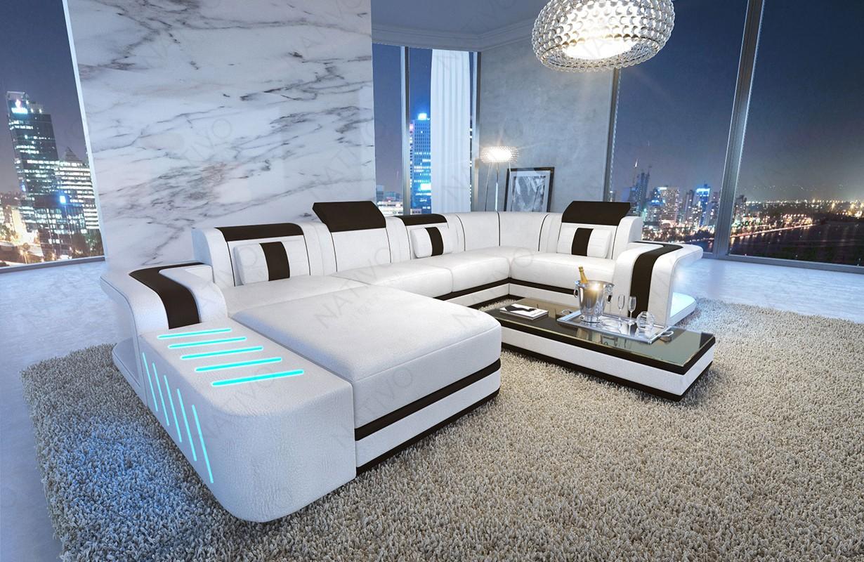 Design bank SPACE XL met LED verlichting
