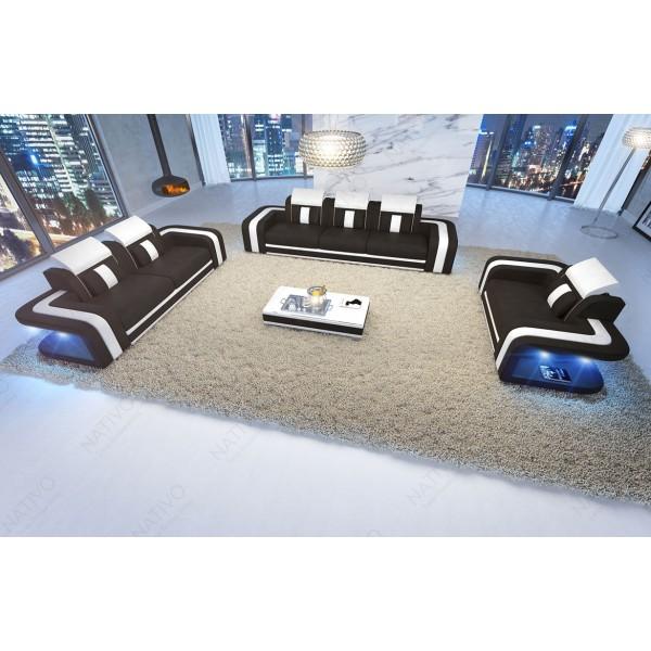 BIG SOFA SKYLINE met LED verlichting NATIVO design meubelen Nederland