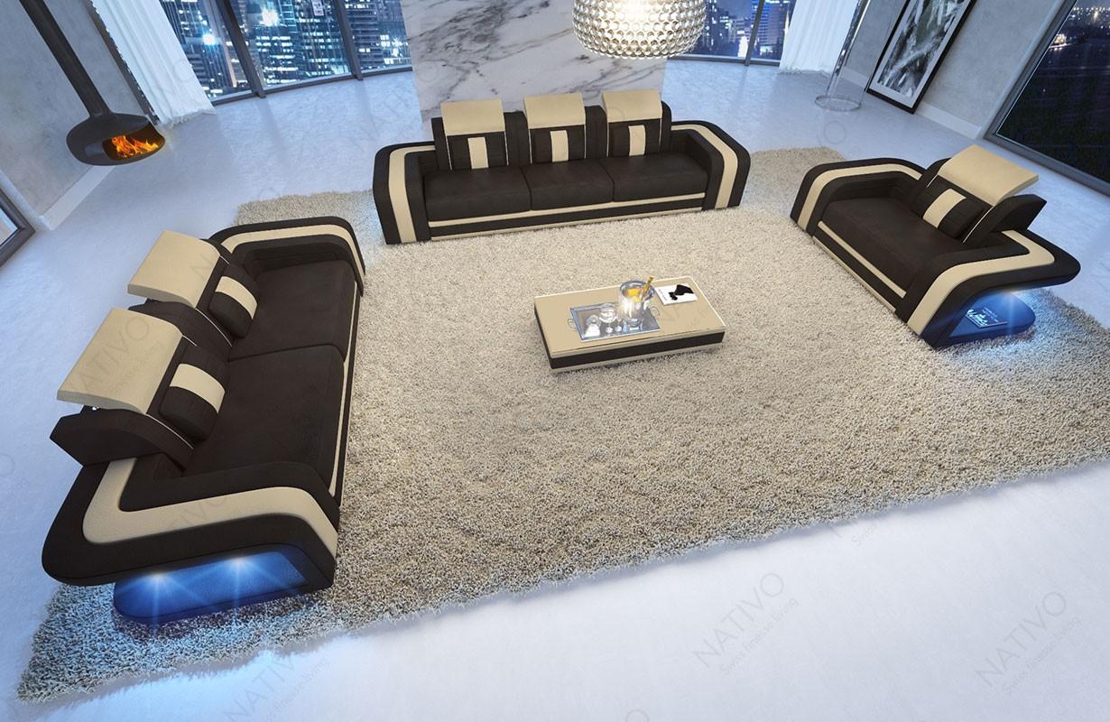 BIG SOFA VICE met LED verlichting NATIVO design meubelen Nederland