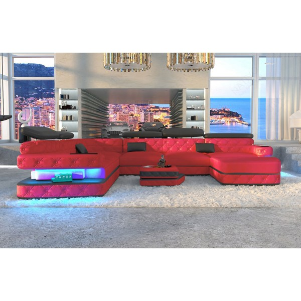 Design bank AVENTADOR CORNER met LED verlichting NATIVO design meubelen Nederland