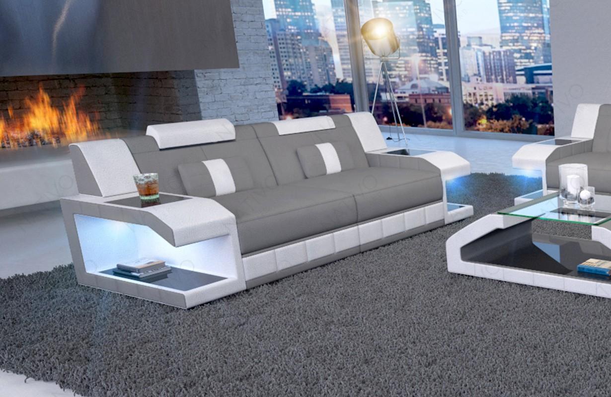 Design 2-zitsbank MATIS met LED verlichting