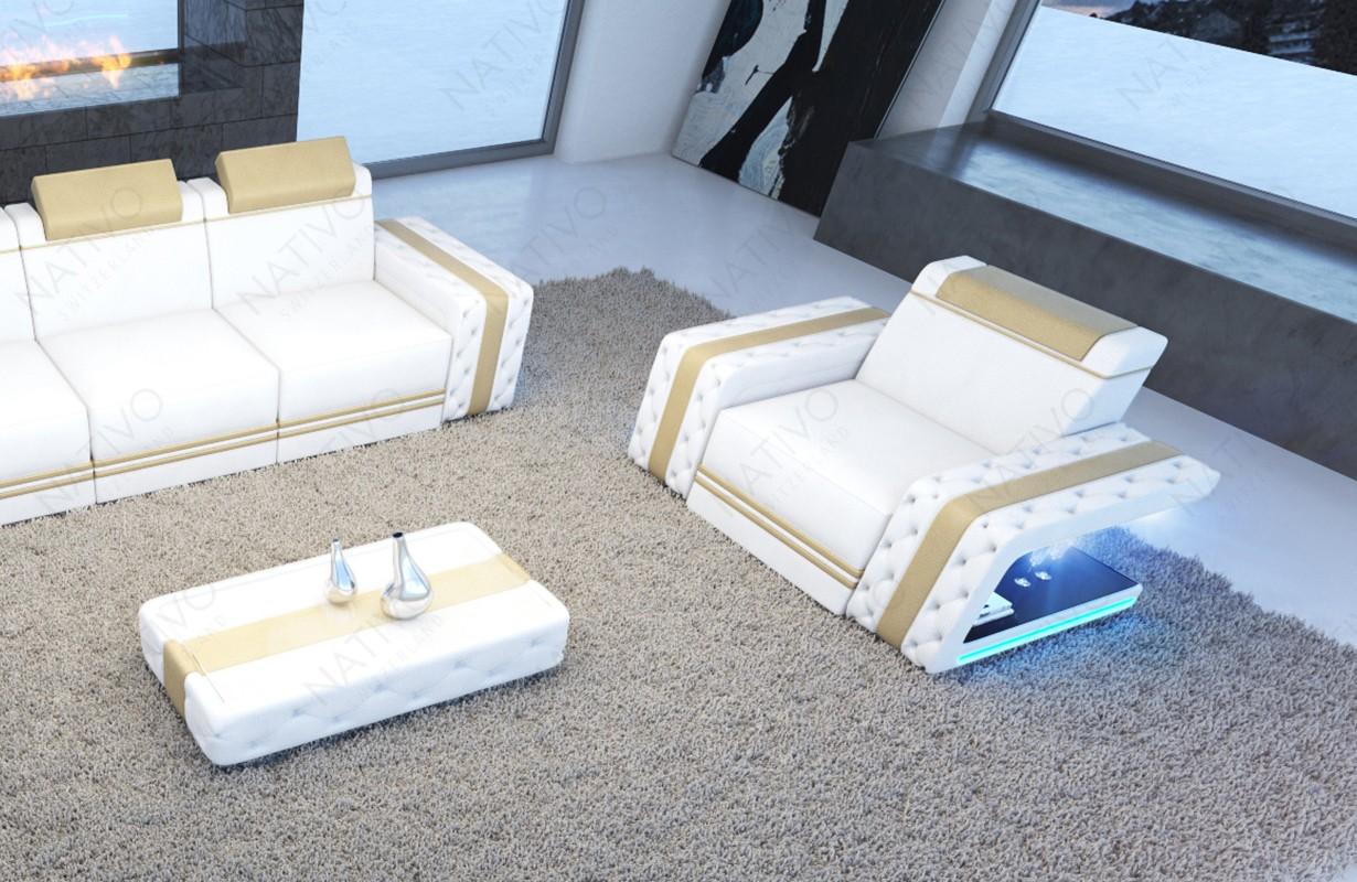 Design fauteuil IMPERIAL met LED verlichting