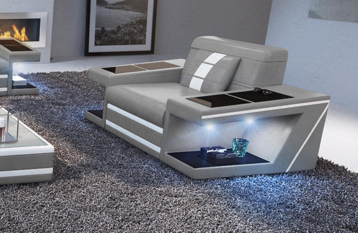 Design fauteuil CAREZZA met LED verlichting