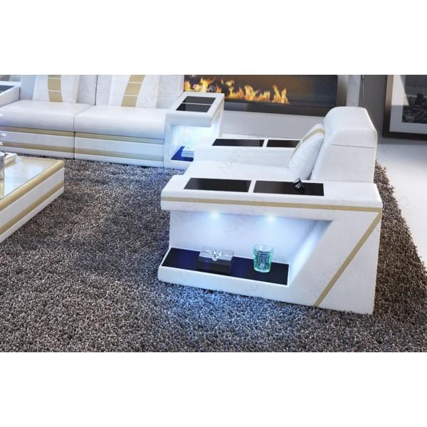 Design fauteuil CLERMONT met LED verlichting NATIVO design meubelen Nederland