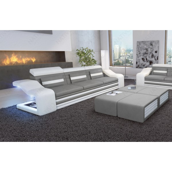 Design fauteuil CESARO met LED verlichting NATIVO design meubelen Nederland