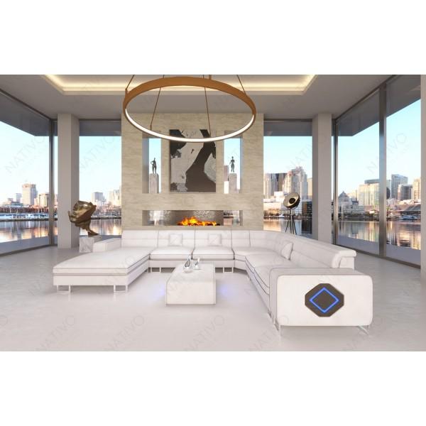 Design fauteuil IMPERIAL met LED verlichting NATIVO design meubelen Nederland