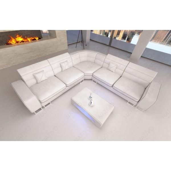 Design fauteuil CAREZZA met LED verlichting NATIVO design meubelen Nederland