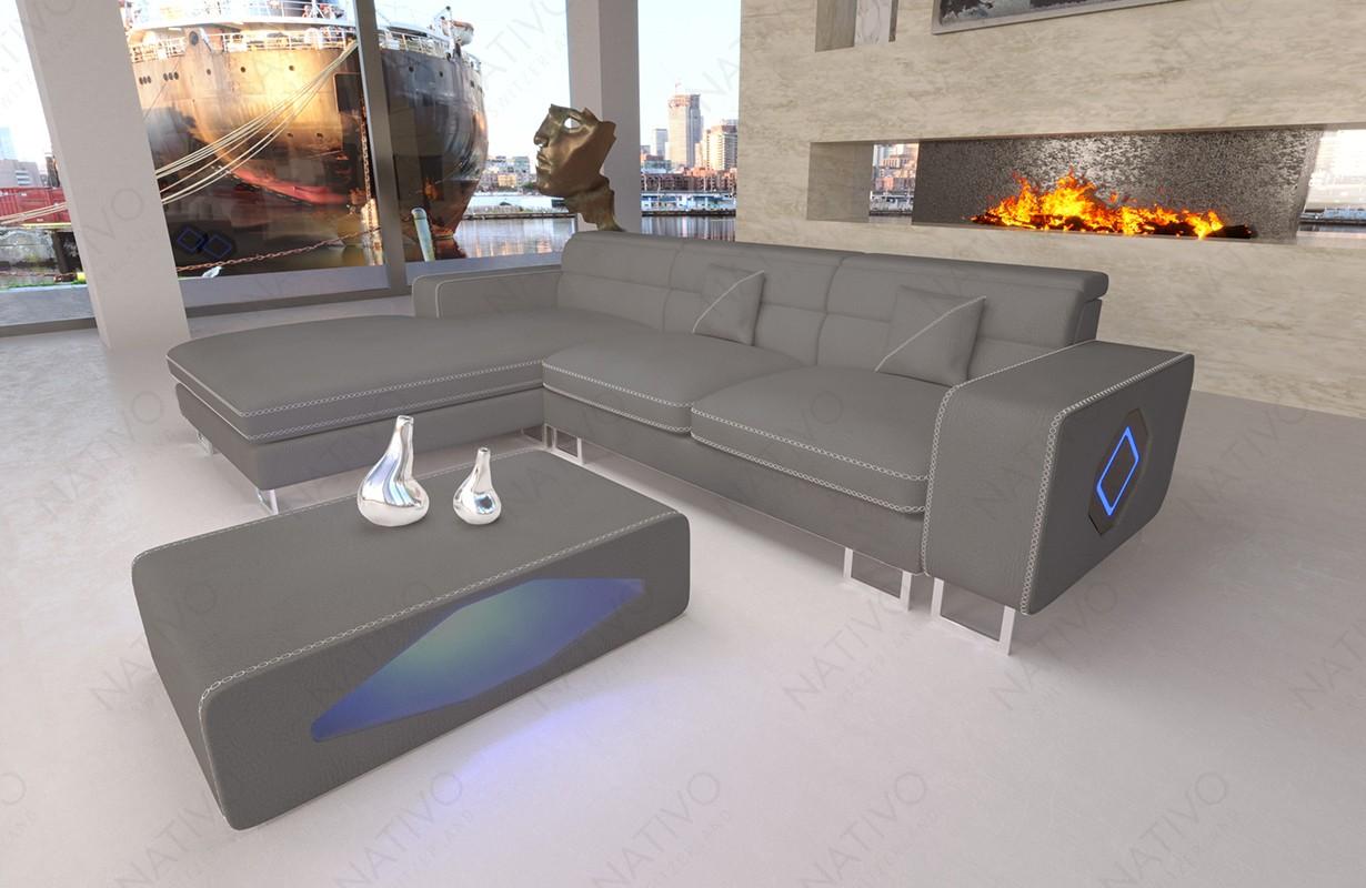 Design bank GREGORY MINI met LED verlichting