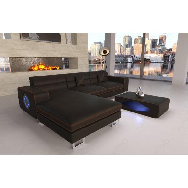 Design fauteuil MIRAGE met LED verlichting NATIVO design meubelen Nederland