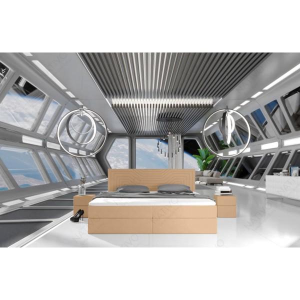 Slaapbank CLERMONT XL met LED verlichting NATIVO design meubelen Nederland