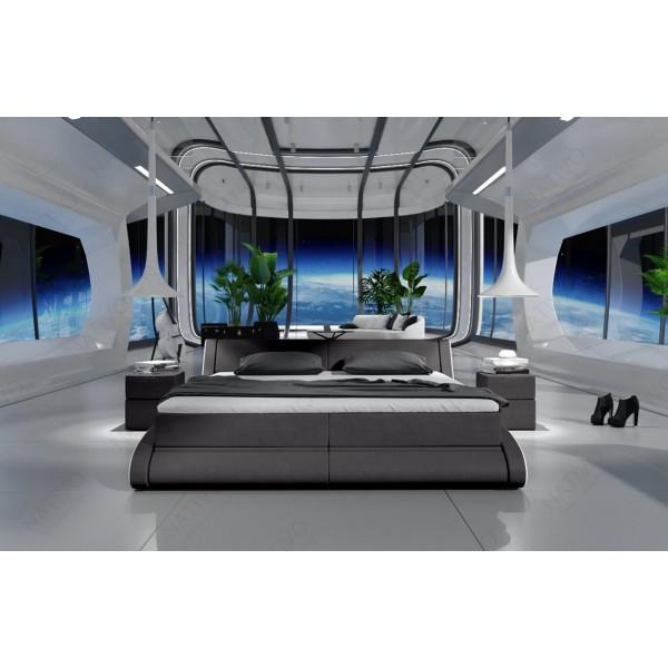 Slaapbank HERMES CORNER met LED verlichting