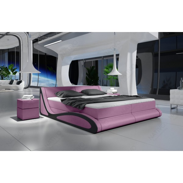 Slaapbank HERMES CORNER met LED verlichting NATIVO design meubelen Nederland