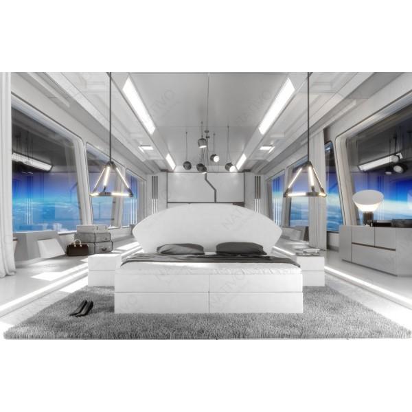 Slaapbank HERMES XXL met LED verlichting