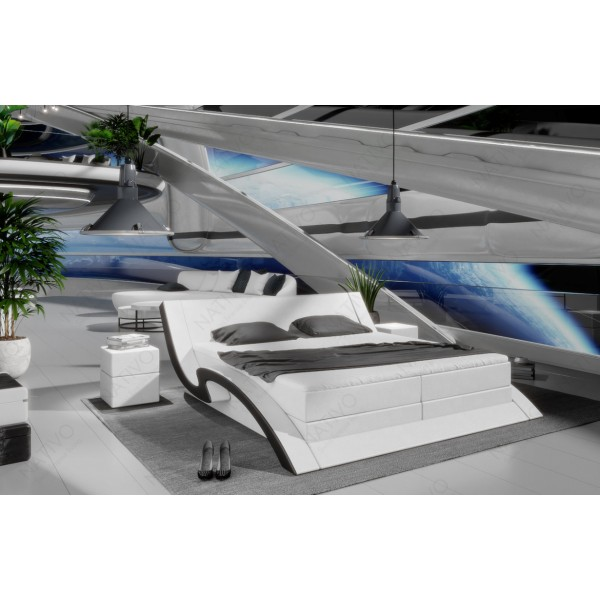 Slaapbank AVENTADOR CORNER met LED verlichting