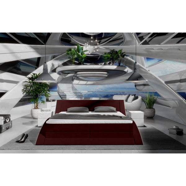 Slaapbank AVENTADOR CORNER met LED verlichting NATIVO design meubelen Nederland