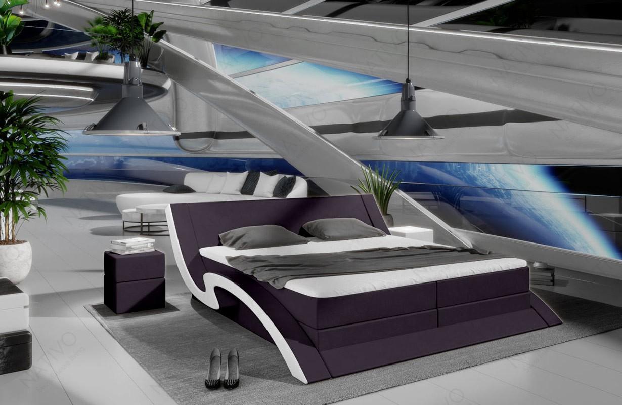Slaapbank AVENTADOR XXL met LED verlichting NATIVO design meubelen Nederland