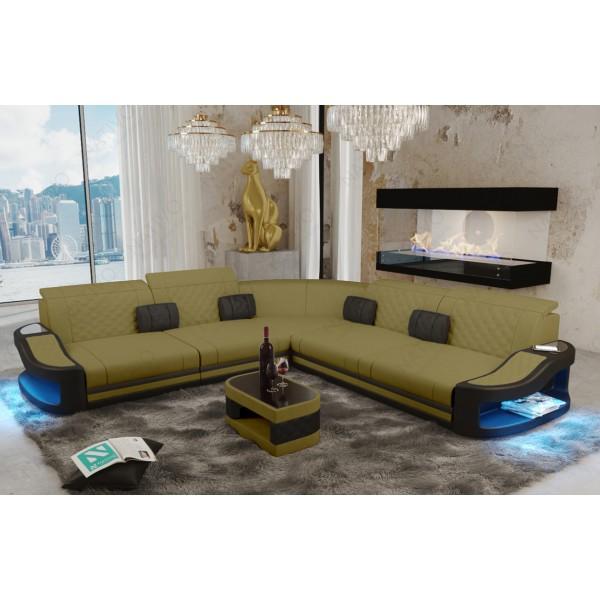 Slaapbank AVENTADOR MINI met LED verlichting NATIVO design meubelen Nederland