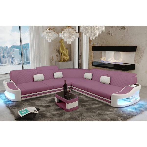 Slaapbank SPACE CORNER met LED verlichting NATIVO design meubelen Nederland
