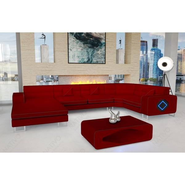 Slaapbank MATIS XL met LED verlichting NATIVO design meubelen Nederland