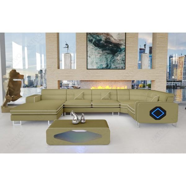 Slaapbank MATIS MINI met LED verlichting NATIVO design meubelen Nederland