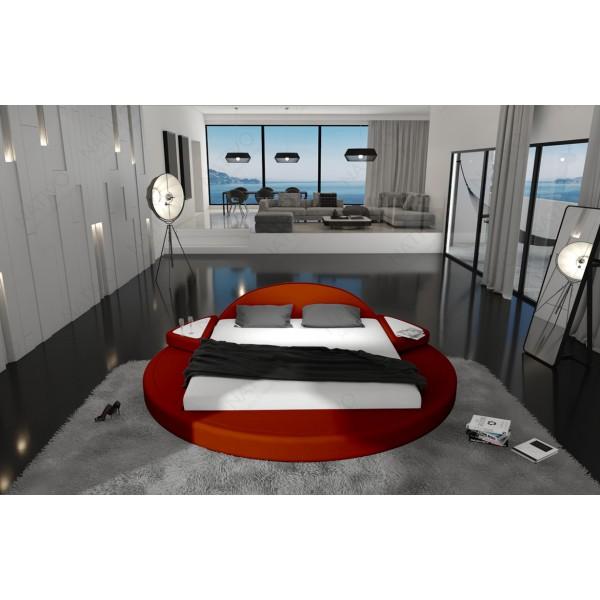 Slaapbank IMPERIAL CORNER met LED verlichting NATIVO design meubelen Nederland