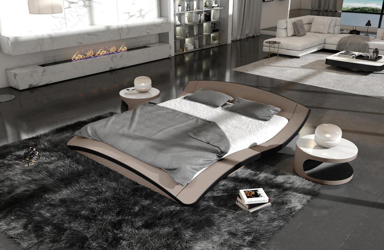 Gestoffeerd bed ASTRID by ©iconX STUDIOS