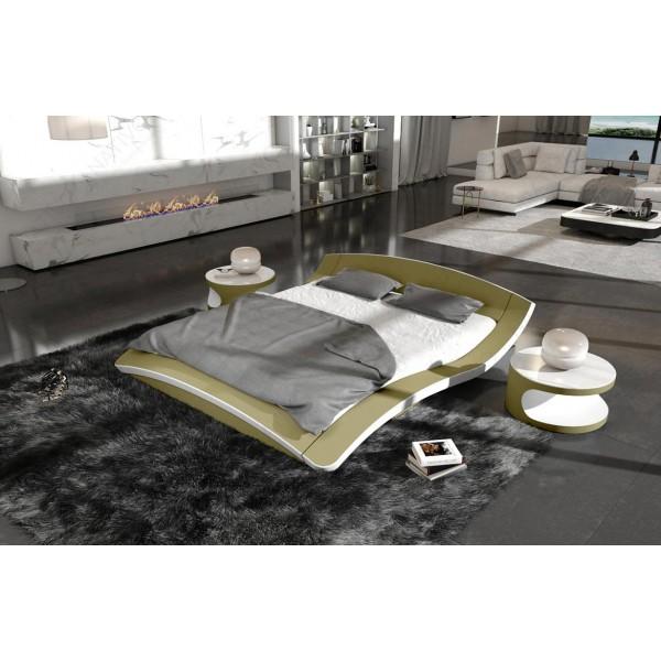 Slaapbank IMPERIAL MINI met LED verlichting NATIVO design meubelen Nederland