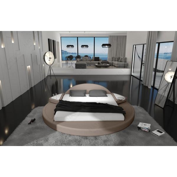 Slaapbank ATLANTIS XXL met LED verlichting NATIVO design meubelen Nederland