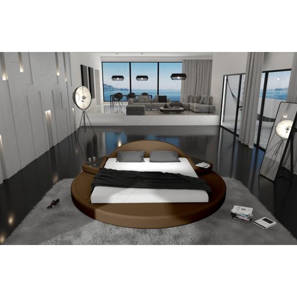 Slaapbank ATLANTIS XL met LED verlichting NATIVO design meubelen Nederland