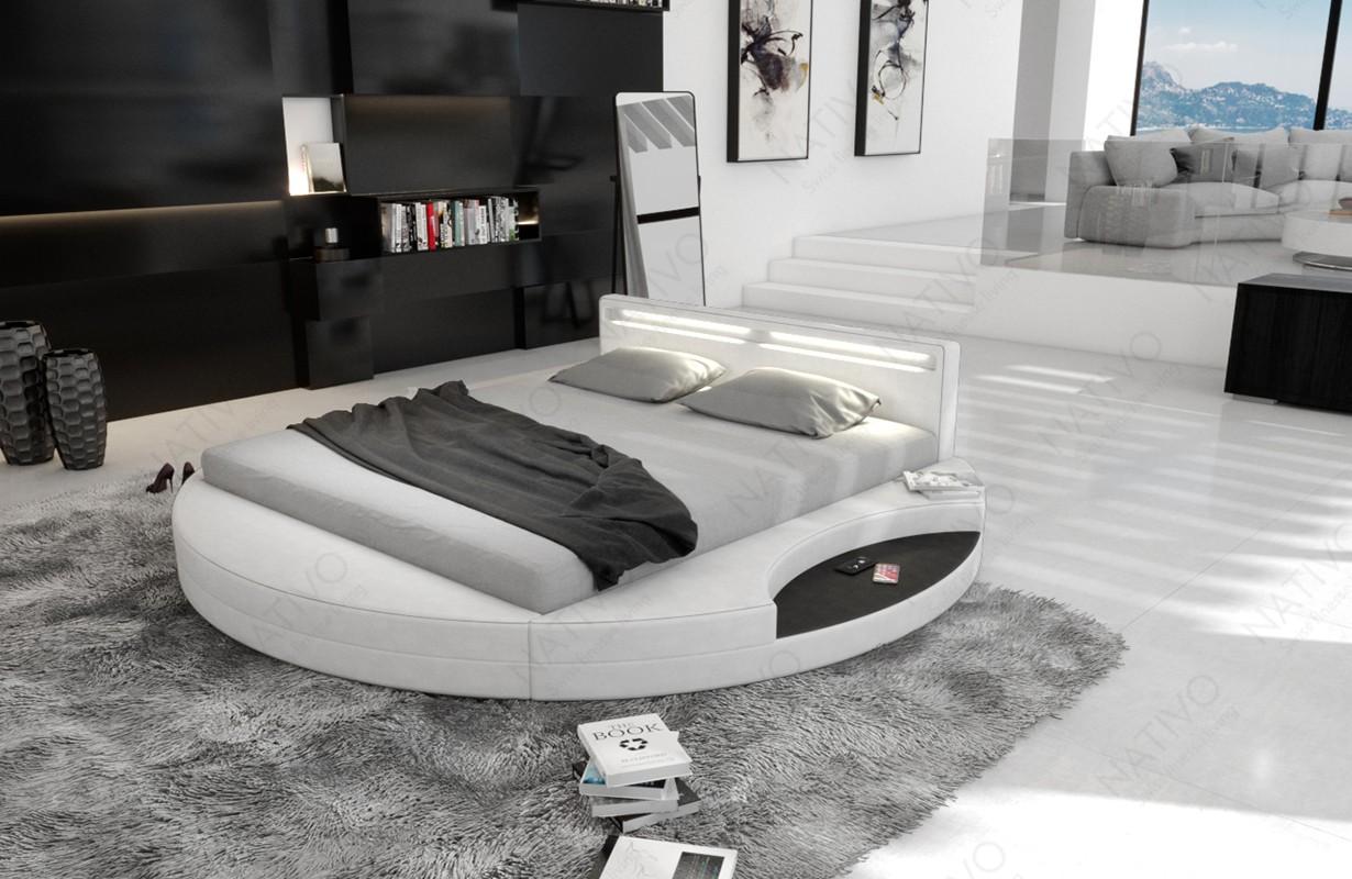 Rond design bed SOLARIS ©iconX STUDIOS